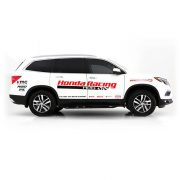honda pilot leveling kit and wheels